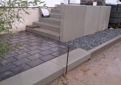 Treppenanlage Beton