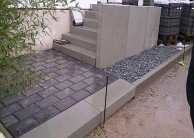 Treppenanlage Beton kiel